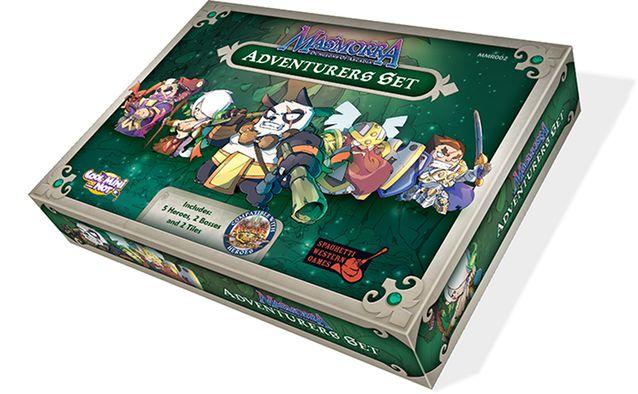 Masmorra: Adventurers Set - Expansão