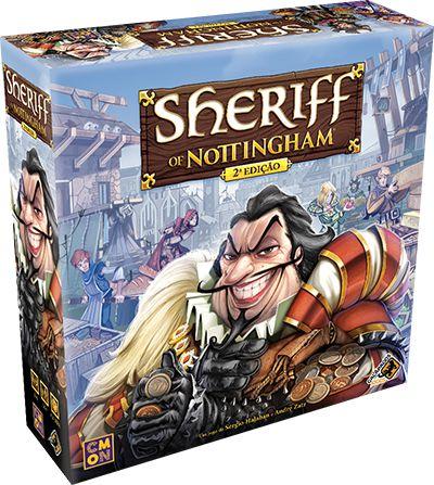 Sheriff of Nottingham - 2ª Edição - PRONTA ENTREGA