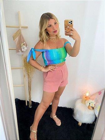 Short Slim Fashion Rose