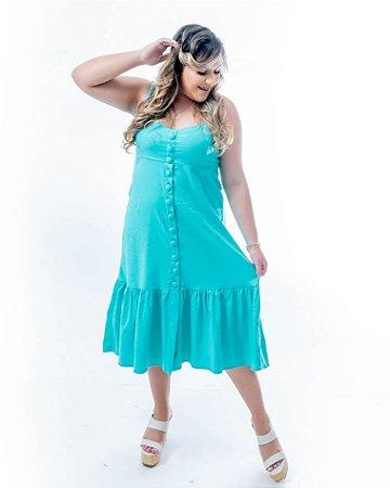 Vestido Slim Rafaela Verde Menta