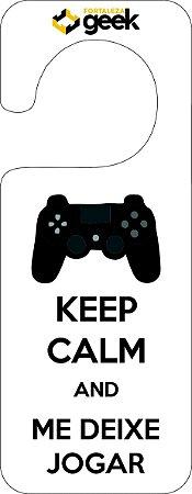 Avisos de Porta Keep Calm
