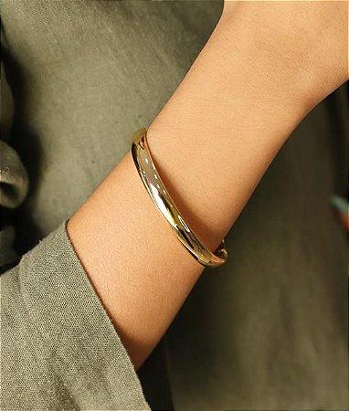 Bracelete Todo Liso Estilo Réplica