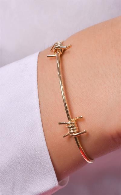 Bracelete estilo aramado