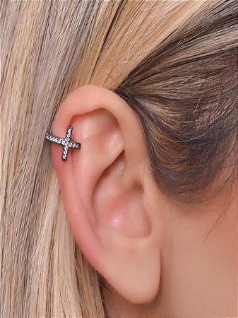 Piercing fake estilo cruz