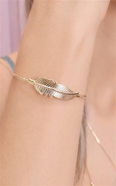 Bracelete de folha