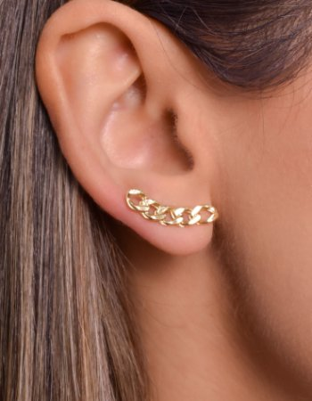 Ear cuff de corrente