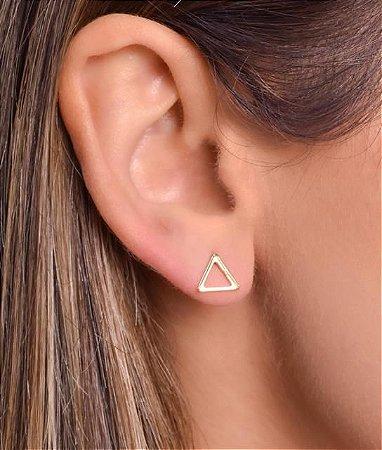 Brinco de triangulo vazado Tam M