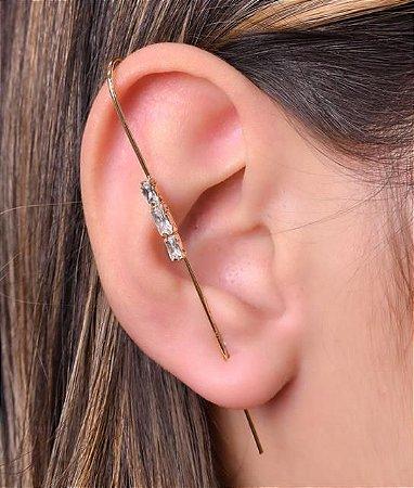 Ear Pin com 3 navetes