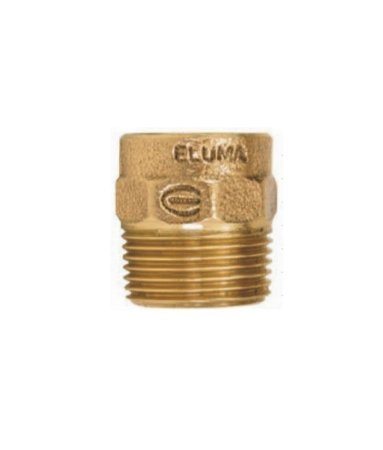CONECTOR ROSCA MACHO C/ ANEL 79 MM X 3'' - ELUMA