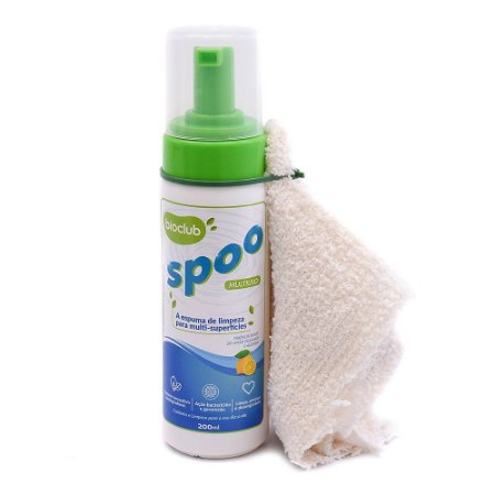 Spoo Espuma Multiuso Bactericida e Germicida - Bioclub