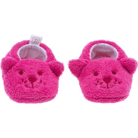 Pantufa Baby Tamanho Único Rosa Ursa - Pimpolho