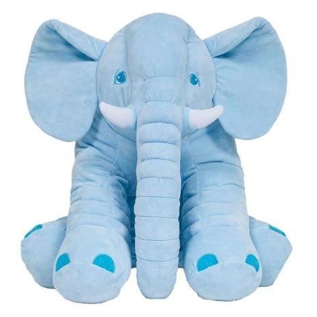 Almofada Elefante Grande Azul - Buba