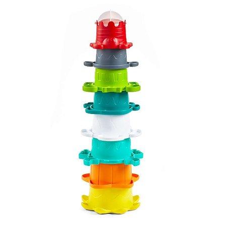 Brinquedo de Empilhar Interativo - Infantino