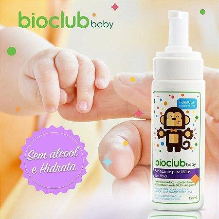 Espuma Higienizadora Para Mãos Sem álcool 150 ml - Bioclub