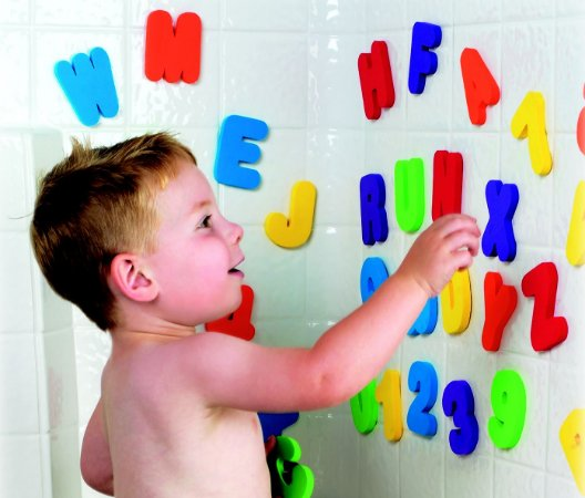 Letrinhas e Números Para Banho - Munchkin