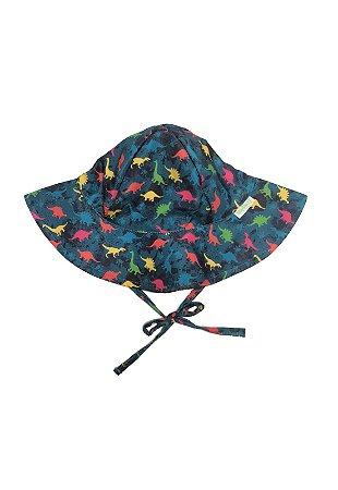 Chapéu de Banho Infantil Com FPS 50+ Dino - Ecoeplay