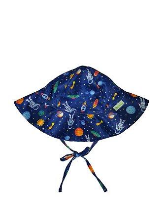 Chapéu de Banho Infantil Com FPS 50+ Espaço - Ecoeplay