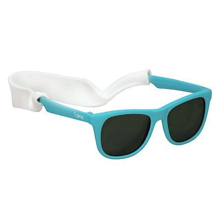 Óculos de Sol Flexível com Proteção Solar 100% Azul - Iplay
