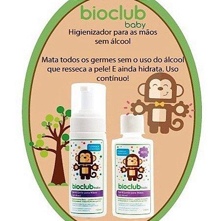 Higienizador Para Mãos Sem Álcool Com Refil - Bioclub