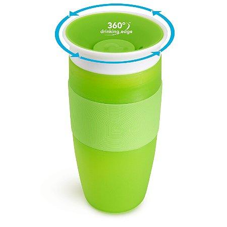 Copo de Treinamento 360 Miracle Cup 414 ml Verde - Munchkin