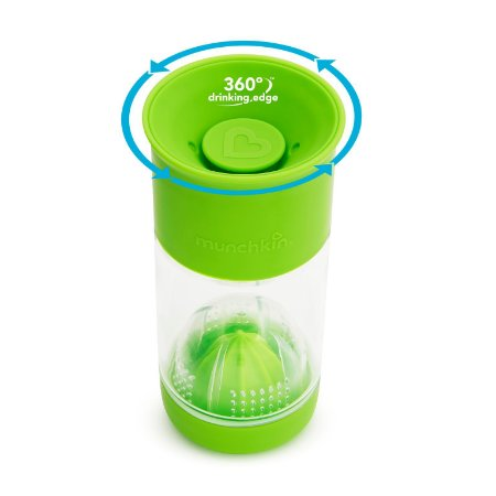 Copo Infusor de Frutas Miracle 360 Verde - Munchkin