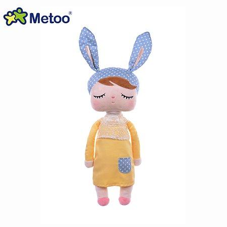 Boneca Metoo Ângela Clássica Amarela 33cm - Metoo