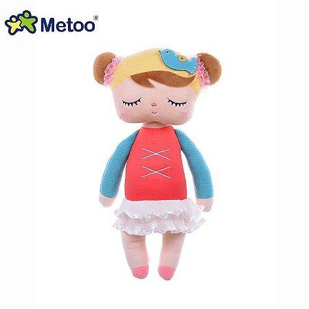 Boneca Metoo Ângela Bailarina Vermelha 33cm - Metoo