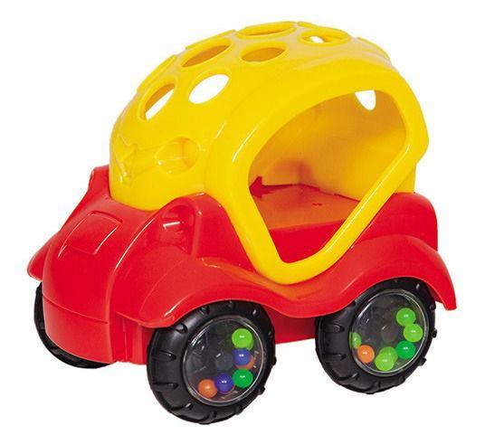 Baby Car Vermelho e Amarelo - Buba