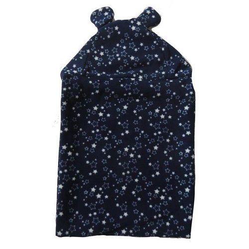 Cobertor Infantil Com Capuz Estrelas - Colo de Mãe