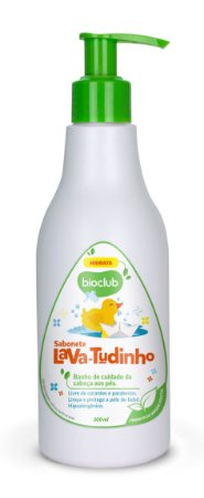 Sabonete Líquido Com Glicerina Natural 300 ml - Bioclub