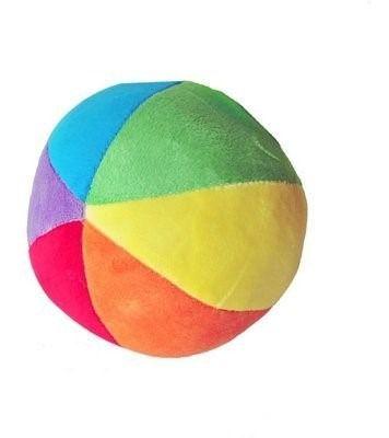 Bola Plush Colorida Com Chocalho - Buba
