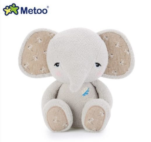Pelúcia Metoo Elefante Cinza - Metoo