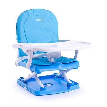 Cadeira de alimentação Portátil Pop Azul até 15kg - Cosco