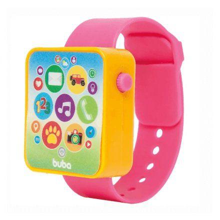 Relógio Musical Watch Rosa - Buba