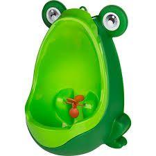 Mictório Stand Up Infantil Sapinho Verde - Clingo