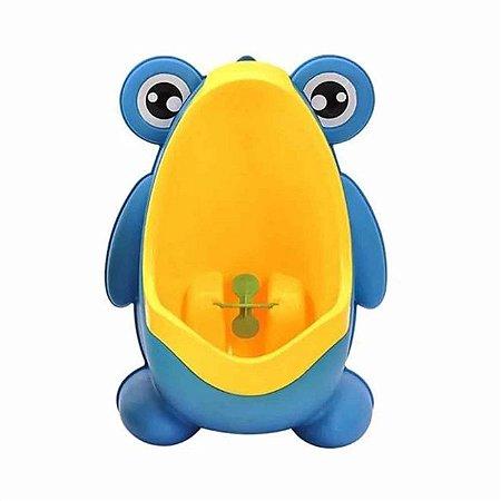 Mictório Stand Up Infantil Sapinho Azul - Kababy
