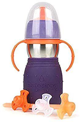 Garrafinha Sippy 2 Roxa - Kid Basix