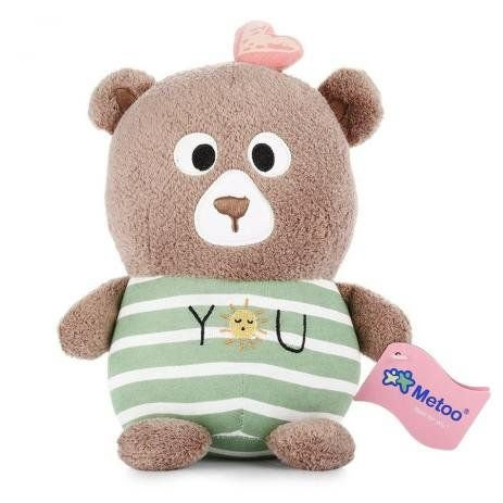 Pelúcia Metoo Doll Magic Toy Urso - Metoo