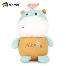 Pelúcia Metoo Doll Magic Toy Hipopótamo - Metoo