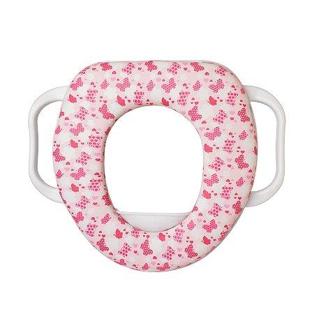 Redutor de Assento Infantil Borboleta Rosa - Clingo