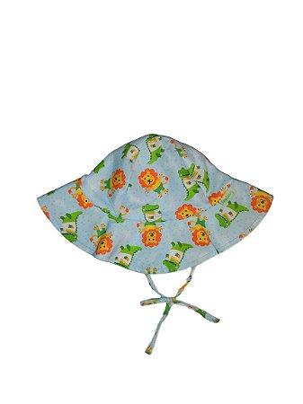 Chapéu de Banho Infantil Com FPS 50+ Feras - Ecoeplay