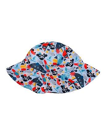 Chapéu de Banho Infantil Com FPS 50+ Piratinha - Ecoeplay