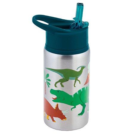 Garrafinha Infantil Inox Dino - Stephen Joseph