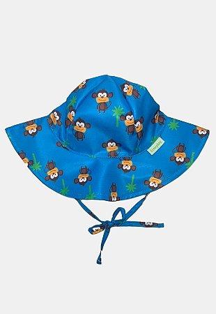 Chapéu de Banho Infantil Com FPS 50+ Macaco - Ecoeplay