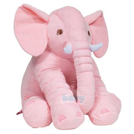 Almofada Elefante Grande Rosa - Buba
