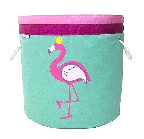 Organizador de Brinquedos Flamingo - O sapo e a princesa
