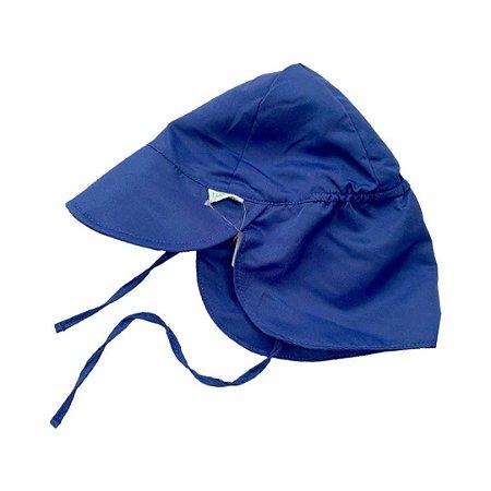 Chapéu de Banho Infantil Australiano Azul Marinho - Ecoeplay