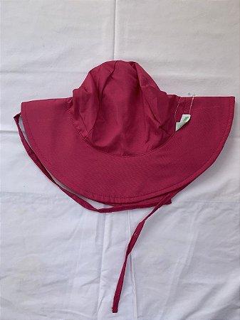Chapéu de Banho Infantil Com FPS 50+ Rosa Magenta - Ecoeplay