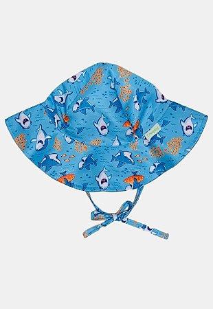 Chapéu de Banho Infantil Com FPS 50+ Baby Shark - Ecoeplay