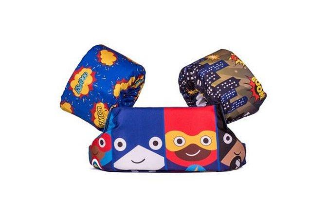 Bóia Tripla Novos Heróis - Panda Pool
